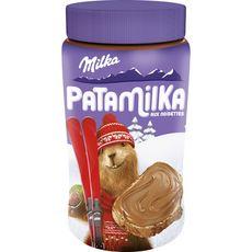 MILKA Patamilka pâte à tartiner aux noisettes 600g