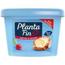 Planta Fin Margarine demi-sel pour tartine et cuisson 1kg