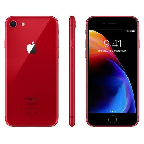 APPLE Apple - Iphone 8 - Reconditionné Grade A+ - 64 Go - Rouge - GZ