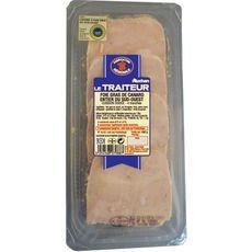 AUCHAN LE TRAITEUR Auchan le Traiteur Foie gras de canard entier du Sud-Ouest tranches x4 160g 4 tranches 160g