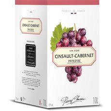 PIERRE CHANAU IGP Pays-d'Oc Cinsault-cabernet rosé 10L