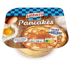 LUSTUCRU Pancakes précuits natures 4 pièces 160g