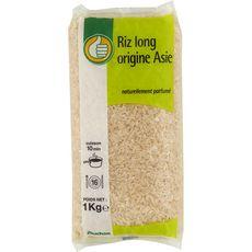 AUCHAN ESSENTIEL Riz long blanc origine Asie 1kg