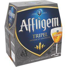 AFFLIGEM Bière blonde triple Belge 8.5% bouteilles 6x25cl