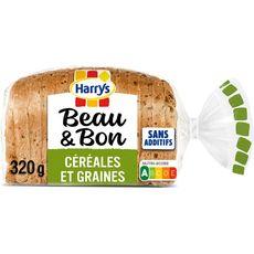 HARRYS Pain de mie farine de blé sans huile de palme 14 tranches 320g