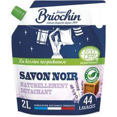 BRIOCHIN Recharge lessive écologique au savon noir 40 lavages 2l
