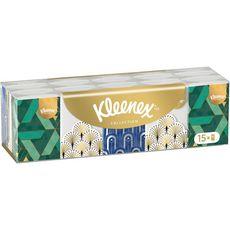 KLEENEX Paquets de mouchoirs collection 15x7 mouchoirs