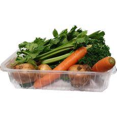 Mélange pour potée : poireaux, oignons, carottes, navets raves, chou blanc 1,5kg