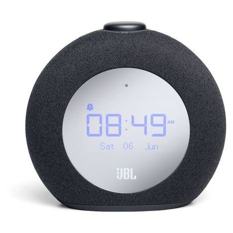 JBL Enceinte radio réveil Bluetooth - Horizon2 DAB - Noir