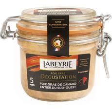 LABEYRIE Foie gras de canard entier du Sud-Ouest bocal 5 portions 190g