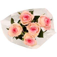FLEURS Bouquet de 5 roses Mandala