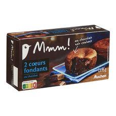 Gourmet AUCHAN MMM! Cœur fondant au chocolat