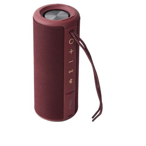 QILIVE Enceinte Bluetooth - Q.1639 Splash - Rouge