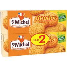 ST MICHEL Roudor palets croustillants et fondants, sachets fraîcheur Lot de 2 2x150g