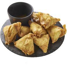 AUCHAN LE TRAITEUR Samossa au poulet et curry 2-4 portions 220g