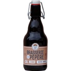 BRASSERIE SAINT RIEUL Cul-noir Bière ambrée 6,5% bouteille 33cl