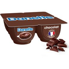 Danone DANETTE Crème dessert chocolat