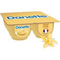 Danone DANETTE Crème dessert vanille