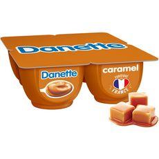 Danone DANETTE Crème dessert caramel