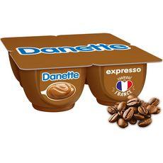 Danone DANETTE Crème dessert café