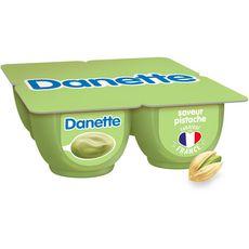 Danone DANETTE Crème dessert saveur pistache