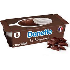 Danone DANETTE Liégeois saveur chocolat
