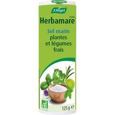 HERBAMARE Sel marin bio aux plantes et légumes frais 125g