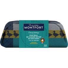 MAISON MONTFORT Maison Monfort Foie gras de canard entier du Sud-Ouest 6 à 8 portions 250g 6 à 8 portions 250g