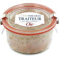 Foie gras d'oie entier en bocal weck 100g