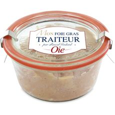 Foie gras d'oie entier en bocal weck 180g