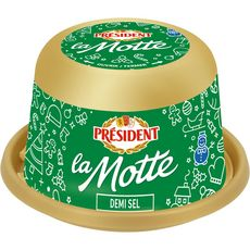 PRESIDENT La Motte Beurre demi-sel 250g