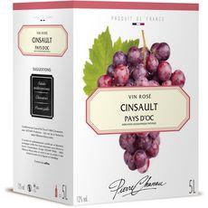 PIERRE CHANAU IGP Pays-d'Oc Cabernet-cinsault rosé 5L