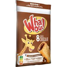 WHAOU Crêpes fourrées chocolat 8 crêpes 256g