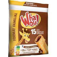 WHAOU Crêpes fourrées chocolat 15 crêpes 480g