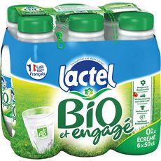 LACTEL LACTEL Lait écrémé bio UHT 6x50cl 6x50cl