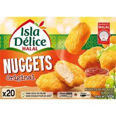 ISLA DELICE Nuggets de poulet et de dinde halal 12 pièces 200g