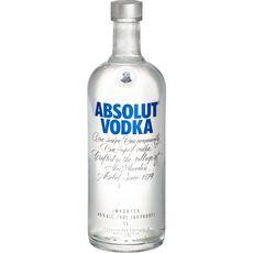 ABSOLUT Vodka suédoise 40% 1l