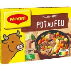 MAGGI Bouillon de pot au feu fabriqué en France 18 tablettes 180g