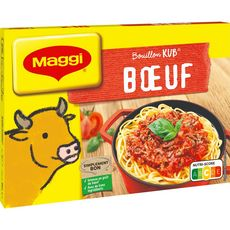 Maggi MAGGI Bouillon Kub de bœuf fabriqué en France