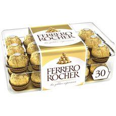 Ferrero FERRERO Ferrero Rochers fines gaufrettes chocolat lait et noisettes x30 375g