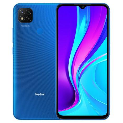 XIAOMI Smartphone Redmi 9C NFC  4G  32 Go  6.53 pouces  Bleu  Double NanoSim