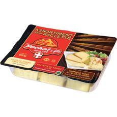 POCHAT POCHAT ET FILS Fromage à raclette assortiment 660g 660g
