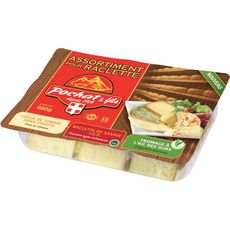 POCHAT POCHAT ET FILS Fromage à raclette assortiment 600g 600g