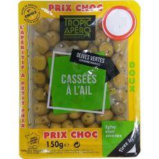 TROPIC APERO Olives vertes cassées à la gransoise 150g