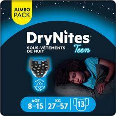 DryNites HUGGIES DryNites slips de nuit garçon dès 8 ans (27-57kg)