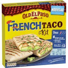 OLD EL PASO Kit tortillas de blé mélange épices et sauce 380g