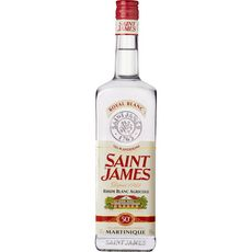 SAINT JAMES Rhum blanc agricole Martinique 50% 1l