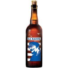 LA RAOUL Bière blonde 7% 75cl