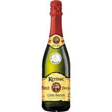 KERISAC Cidre pur jus brut IGP 5,5% 75cl