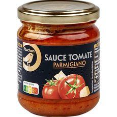 Gourmet AUCHAN GOURMET Sauce tomate au parmesan, en bocal